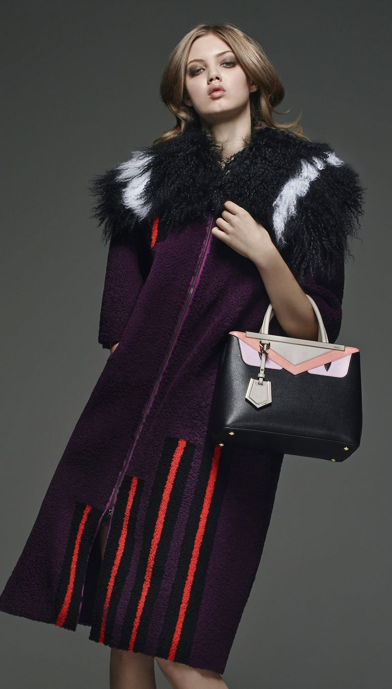 c0c68807ccf1 Fur Monsters take over Fendi Pre-Fall 2015 collection - LaiaMagazine