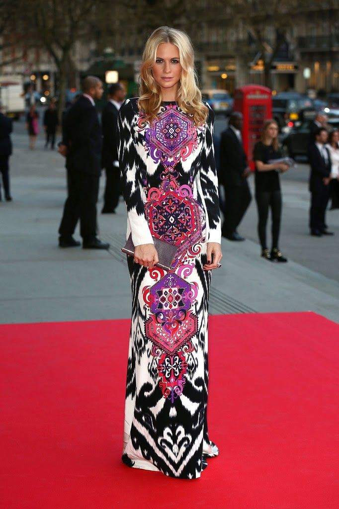 Emilio Pucci Dress Poppy Delevingne at The