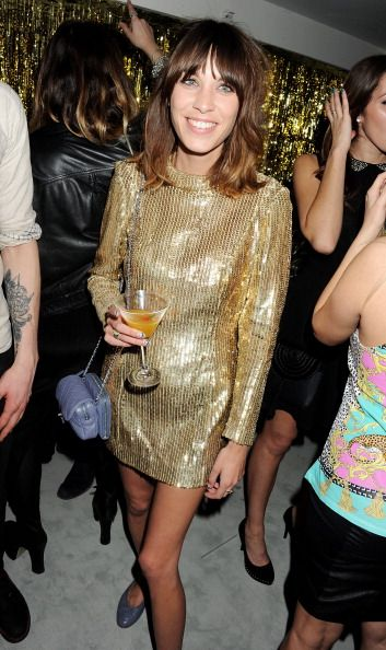Alexa Chunt at the Elle Style Awards 2012
