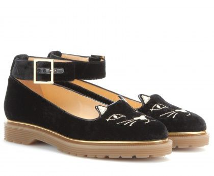 charlotte-olympia-Creeping-Kitty-velvet-creepers