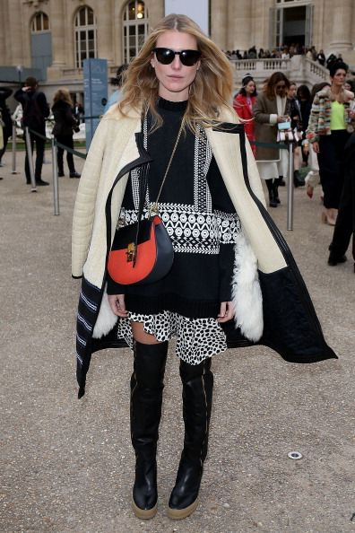 Chloe : Outside Arrivals  - Paris Fashion Week Womenswear Fall/Winter 2014-2015