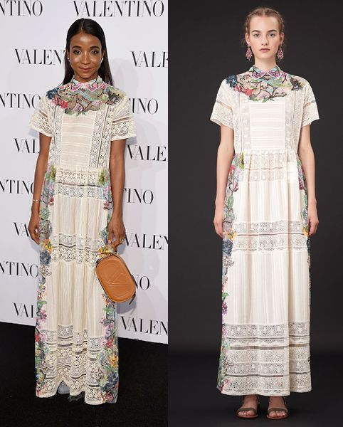 Genevieve Jones in Valentino Resort 2015