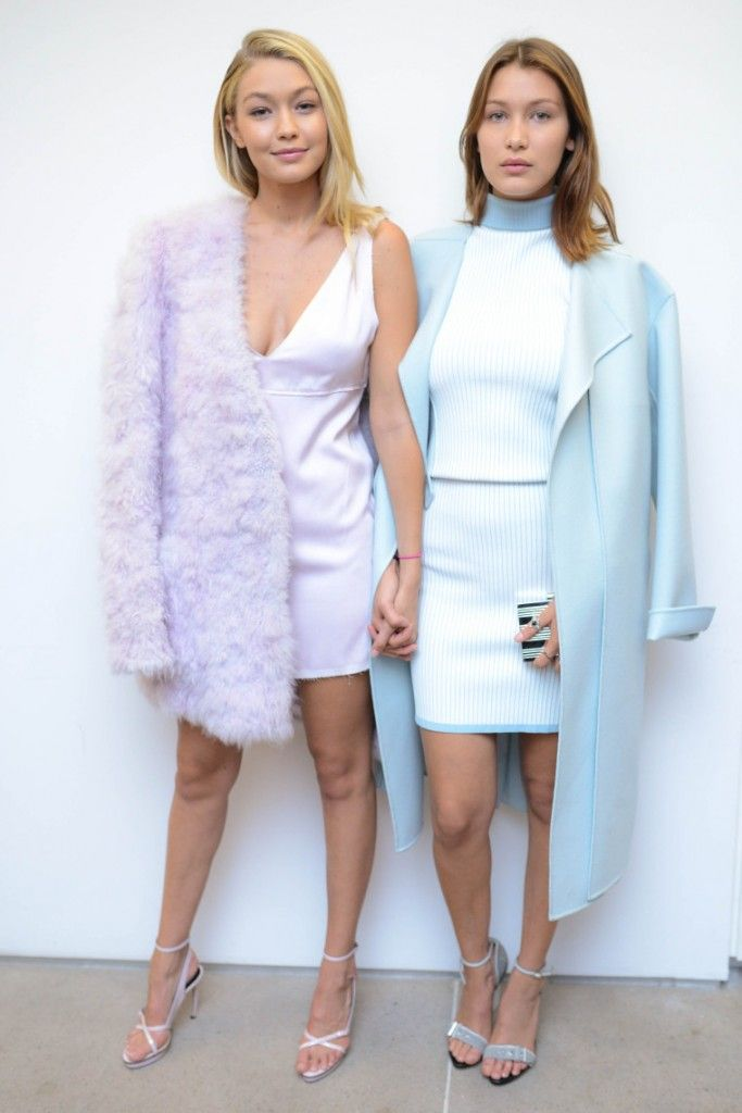 Model sisters Gigi Hadid and Bella Hadid
