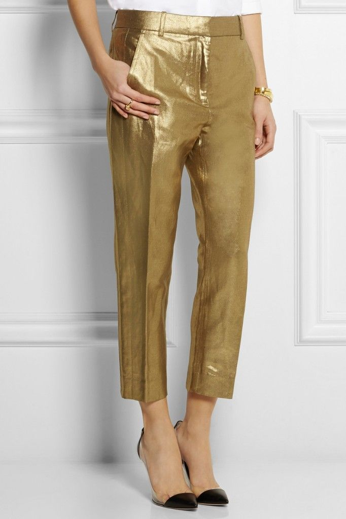 j-crew-metallic-pants