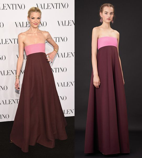 Jaime King in Valentino Resort 2015