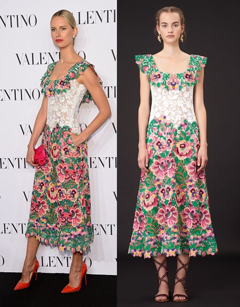 Karolina Kurkova in Valentino Resort 2015