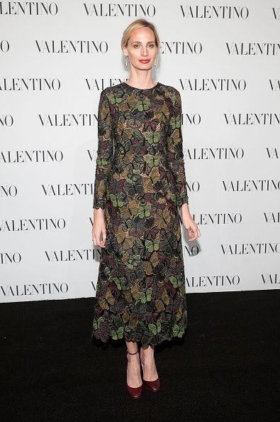 Lauren Santo Domingo in Valentino Pre-Fall 2014