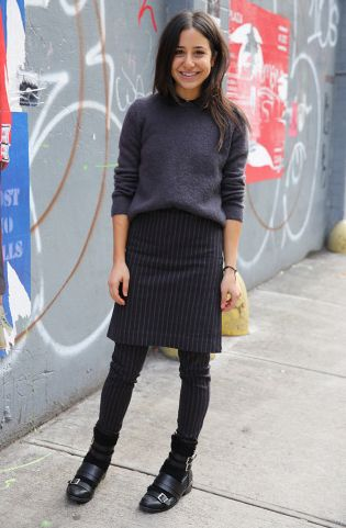 Man Repeller's contributor Esther Levy in Otto d'Ame Camelia pants