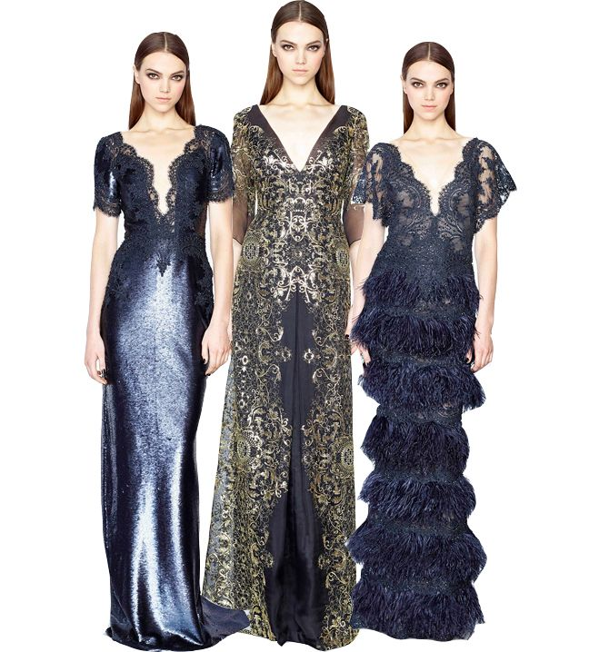 marchesa-pre-fall-2015-blue-night-gowns
