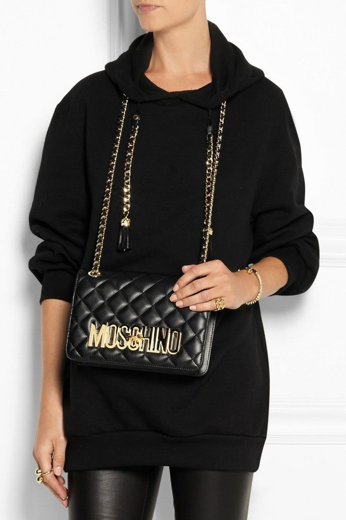 moschino-bag-embellished-cotton-jersey-hooded-top