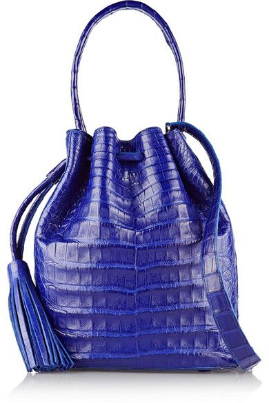 nancy-gonzalez-crocodile-bucket-bag