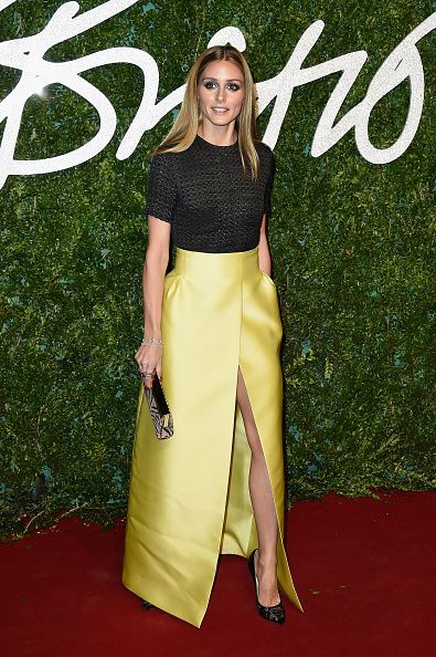 So did her Emilia Wickstead split-front one for the British Fashion Awards 2014