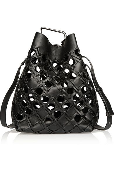 3.1 Phillip Lim quilt cutout leather bag available at NET-A-PORTER