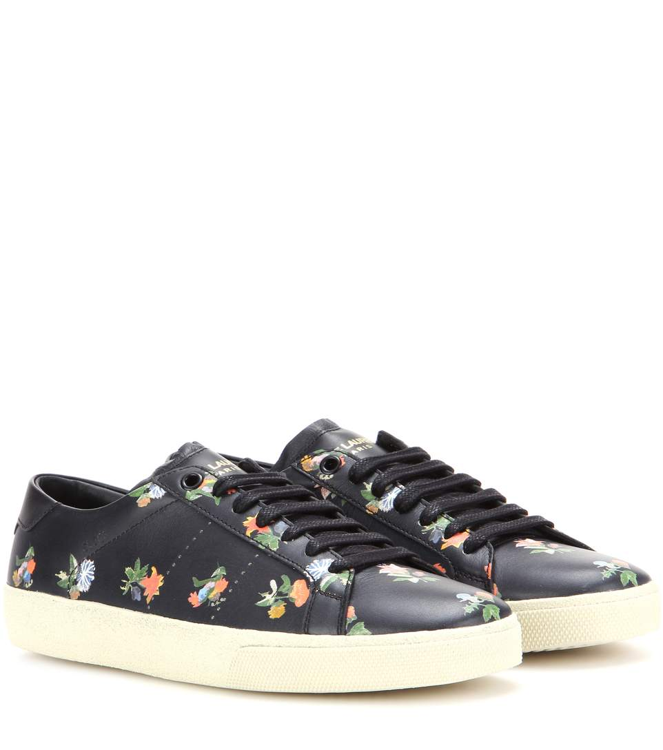 isabel marant and saint laurent take on stan smith sneakers is cooler than the original. Black Bedroom Furniture Sets. Home Design Ideas