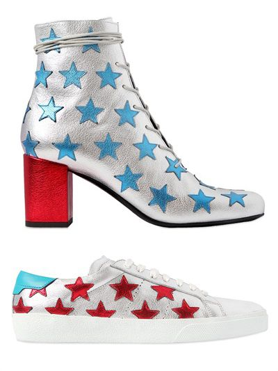 saint-laurent-metallic-leather-blue-red-stars-ankle-boots-sneakers