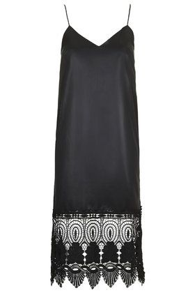 topshop-wet-look-lace-hem-slip-dress
