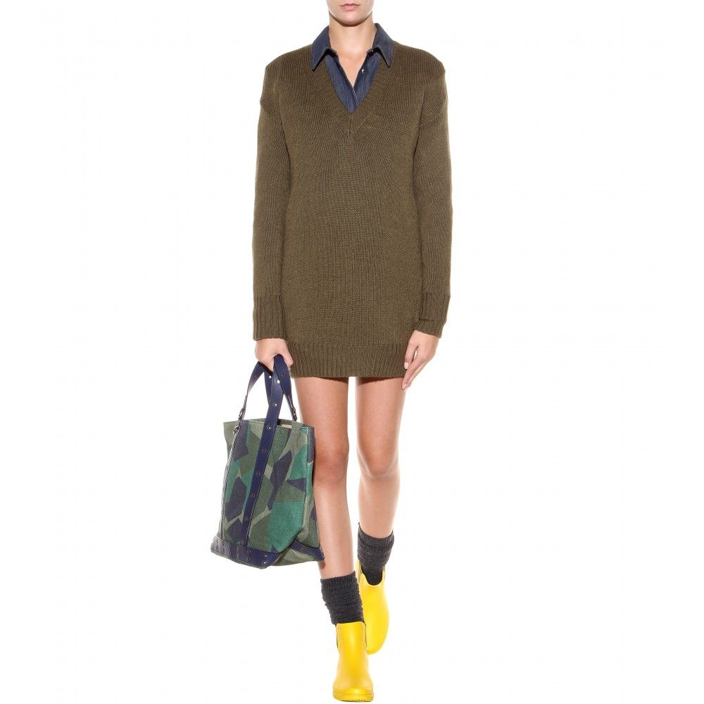 vanessa-bruno-wool-sweater-dress