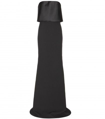 victoria-beckham-silk-and-wool-blend-gown