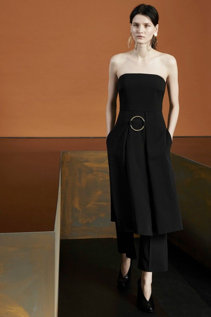 6- Stella McCartney Pre-Fall 2015 Dresses over culottes