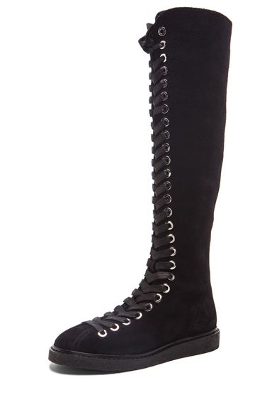 alexander-wang-emmanuel-knee-high-lace-up-black-suede-boots