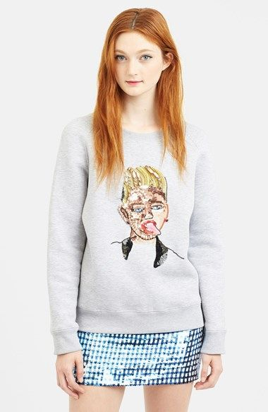 ashish-sequin-miley-cyrus-portrait-sweatshirt