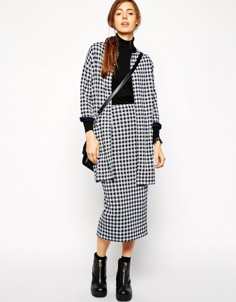 asos-gingham-collarless-blazer