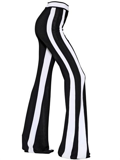 balmain-high-waisted-striped-flare-pants-ss15
