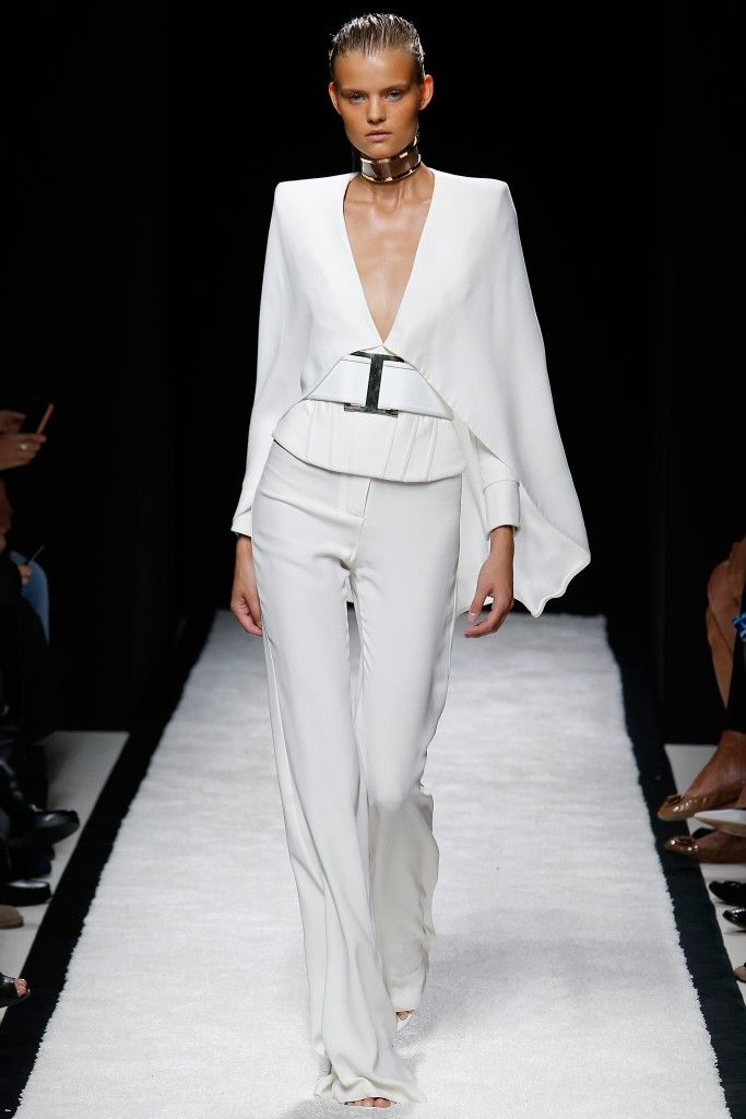 balmain-ss15-white-cape-and-high-waisted-pants-outfit