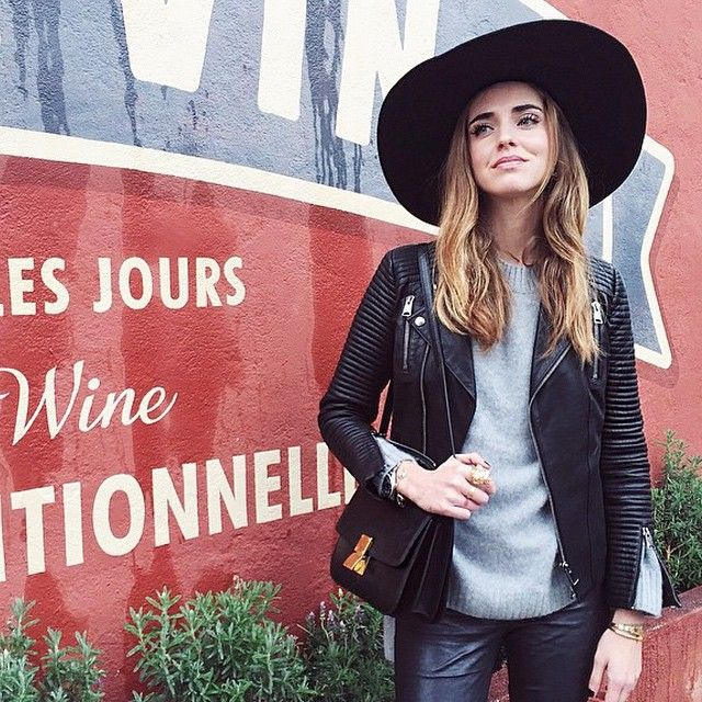 chiara-ferragni-anine-bing-classic-leather-jacket