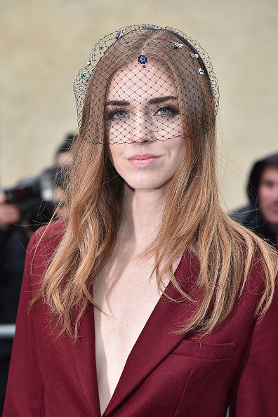 Chiara Ferragni at Dior Haute Couture SS15 fashion show