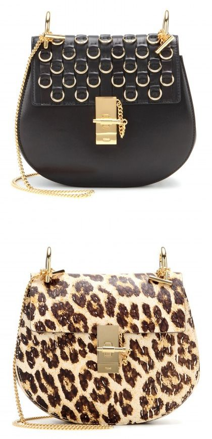 Chloé Drew embellished leather shoulder bag available at MYTHERESA.com