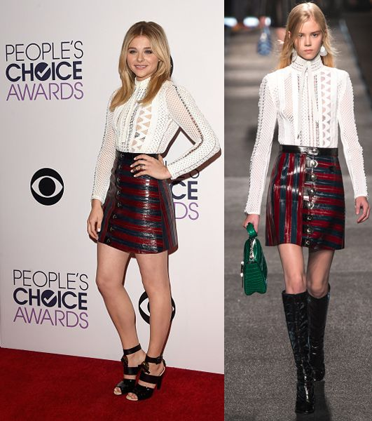 Chloë Moretz in Louis Vuitton SS15
