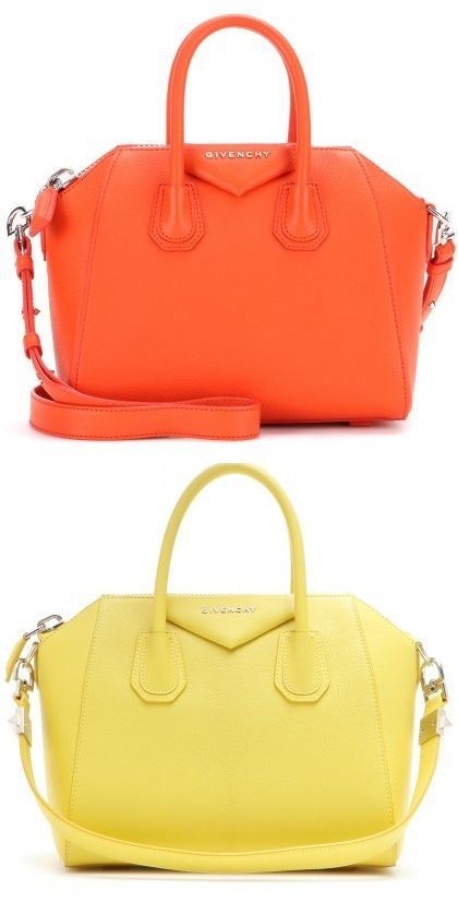 givenchy-antigona-mini-leather-tote-bright-orange-bright-yellow
