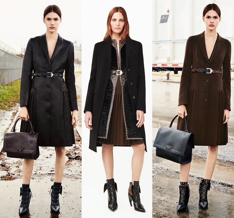givenchy-pre-fall-2015-collection-belted-coats