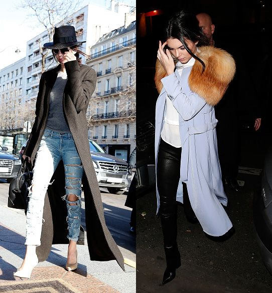 Celebrity Sightings In Paris  -  January 24, 2015