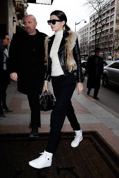 Kendall Jenner on January 27, 2015 in Paris, France.