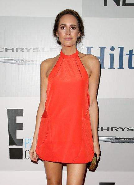 Louise Roe at the NBCUniversal 2015 Golden Globe Awards Party sponsored by Chrysler at The Beverly Hilton Hotel.