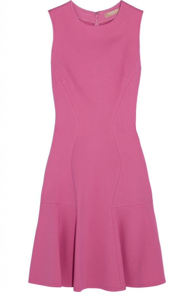 miachek-kors-pink-stretch-ponte-de-roma-dress