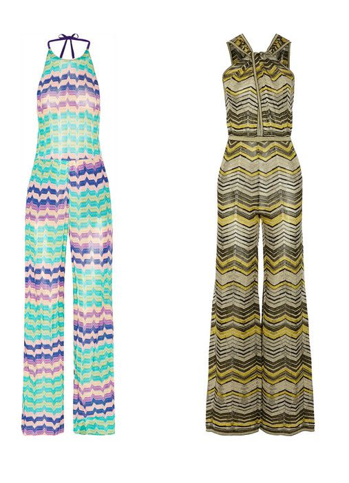 1) Missoni crochet-knit halterneck jumpsuit available at NET-A-PORTER