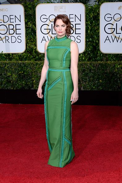 For the record: her Prada is better than Ruth Wilson's Prada at the 2015 Golden Globes...