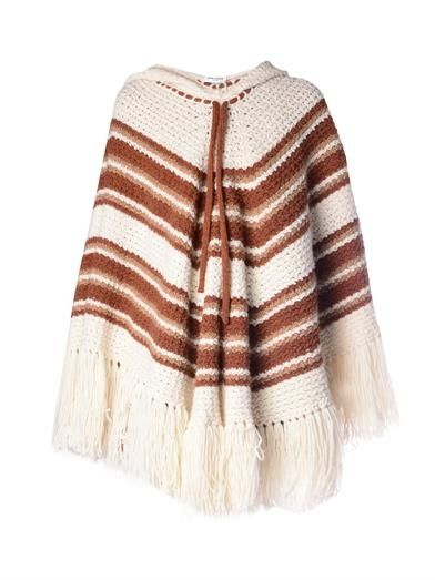 saint-laurent-striped-crochet-hooded-poncho