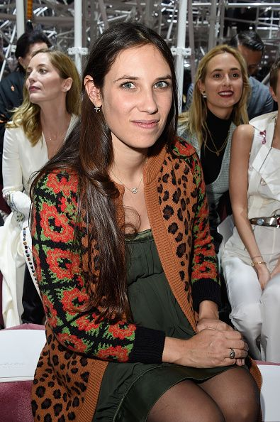 Tatiana Santo Domingo attends the Christian Dior show as part of Paris Fashion Week Haute Couture Spring/Summer 2015 on January 26, 2015 in Paris, France.