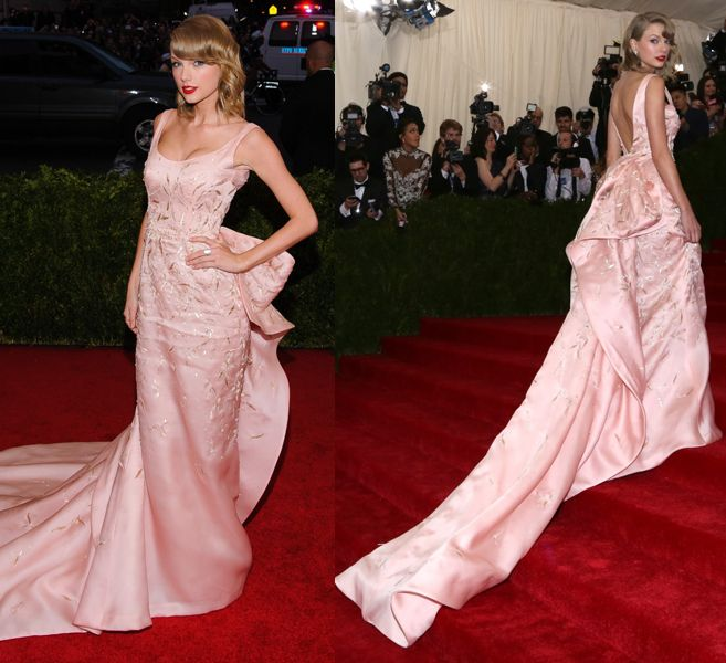 taylor-swift-in-oscar-de-la-renta-met-gala-2014