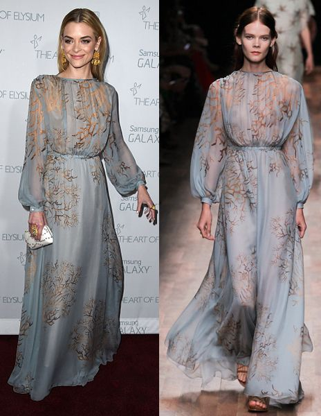 Jaime King in Valentino SS15