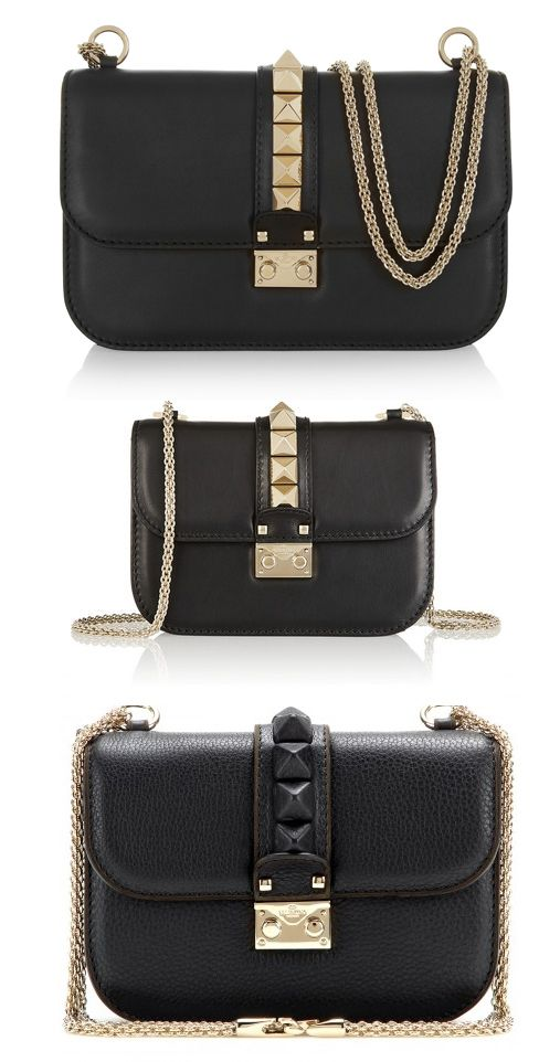 valentino-glam-lock-black-leather-shoulder-bag-