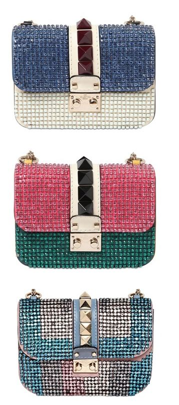 valentinos-small-lock-multicolor-rhinestone-bag