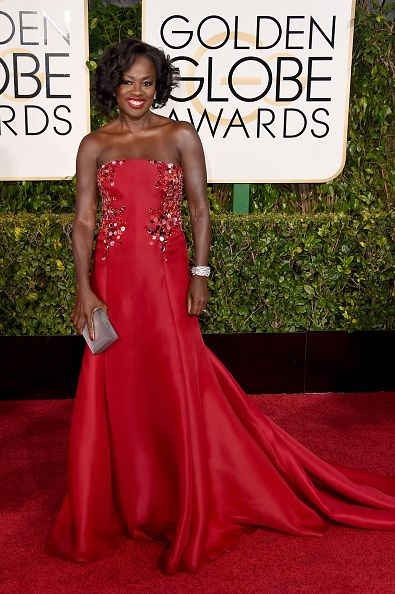 Viola Davis in Donna Karan Collection
