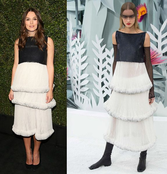 Keira Knightley in Chanel Hauet Couture SS15