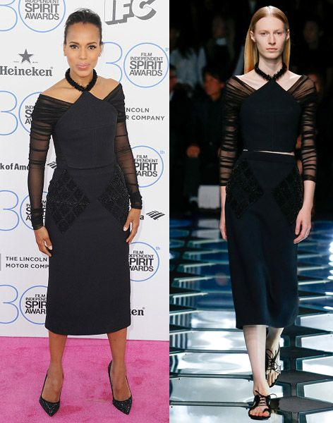 3- Kerry Washington in Balenciaga SS15