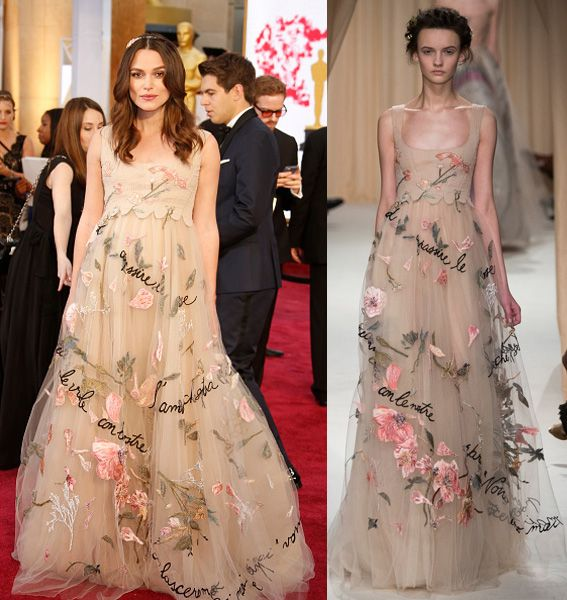 Keira Knightley in Valentino Couture SS15